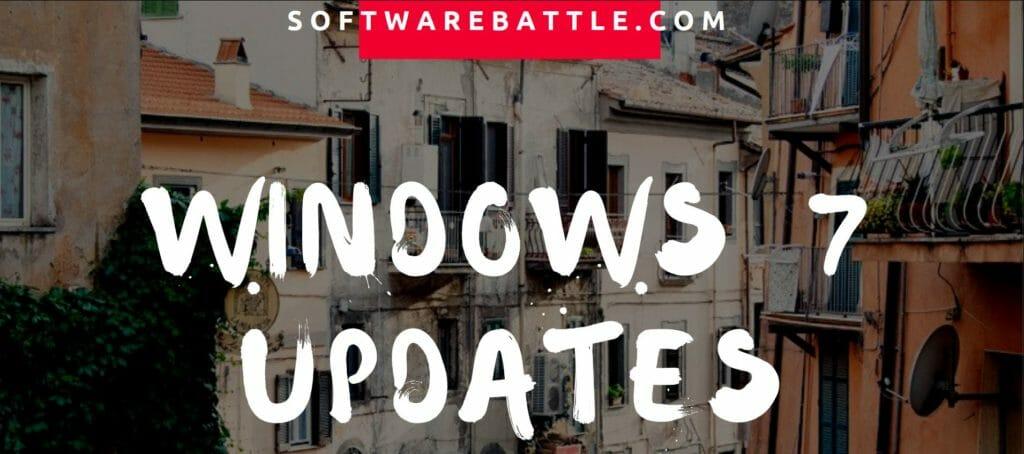 Complete 'Windows 7 Update' Guide (All Windows 7 Updates