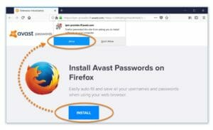 avast passwords mobile